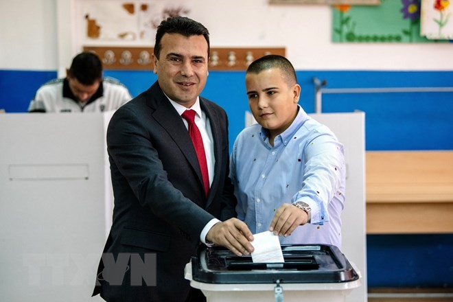 Hasil sementara referendum tentang pengubahan nama negara di Makedonia - ảnh 1