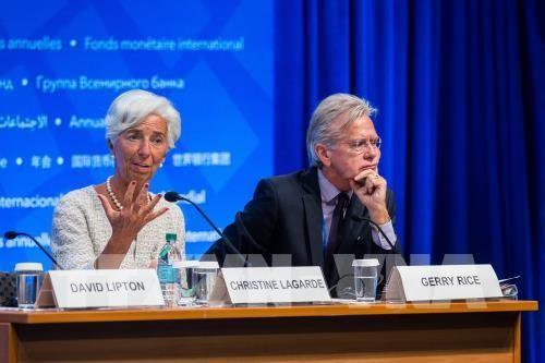 IMF memperingatkan konfrontasi dagang akan membuat prospek pertumbuhan ekonomi global menjadi redup - ảnh 1