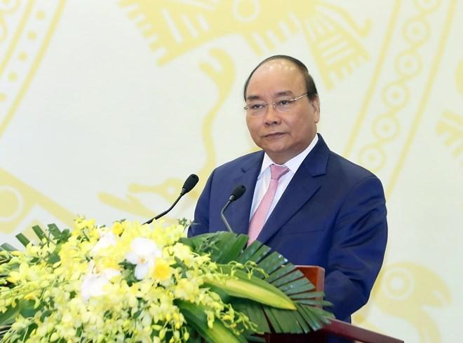 PM Vietnam, Nguyen Xuan Phuc menjawab interviu kalangan pers Jepang - ảnh 1