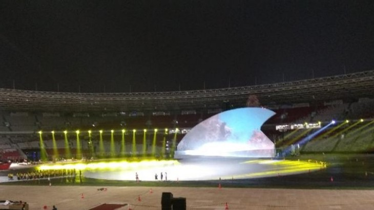 Asian Para Games 2018: Upacara pembukaan penuh dengan semangat berbagi dan berbaur - ảnh 1
