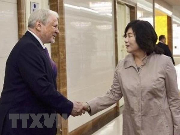 Rusia dan RDRK melakukan kerjasama tentang masalah-masalah keamanan regional - ảnh 1