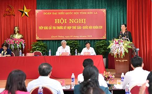 Rombongan anggota MN Vietnam di daerah-daerah mencatat pendapat para pemilih - ảnh 1