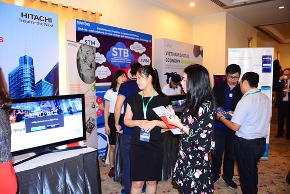 Forum Ekonomi Digital Vietnam 2018 - ảnh 1