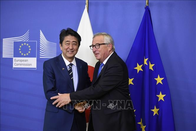 Kabinet Jepang mengesahkan RUU ratifikasi FTA dengan Uni Eropa - ảnh 1