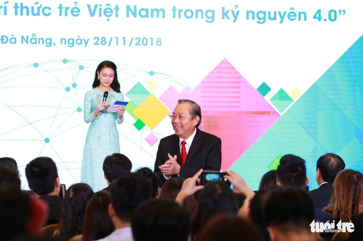 Pembukaan Forum pertama  intelektual muda Vietnam di seluruh dunia - ảnh 1