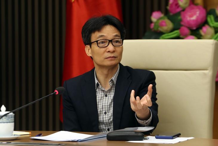 越南政府副总理武德担与教育培训部门举行交班会 - ảnh 1