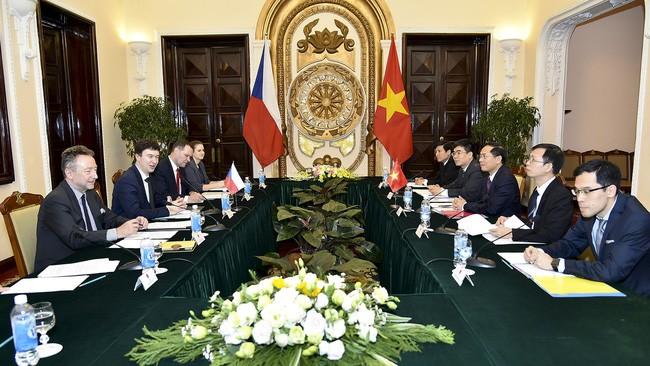 Acara konsultasi politik Viet Nam – Republik Czech - ảnh 1