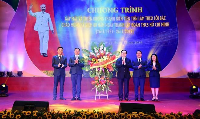 Aktivitas – aktivitas bergelora memperingati ulang tahun ke-88 Hari Berdirinya  Liga Pemuda Komunis Ho Chi Minh - ảnh 1