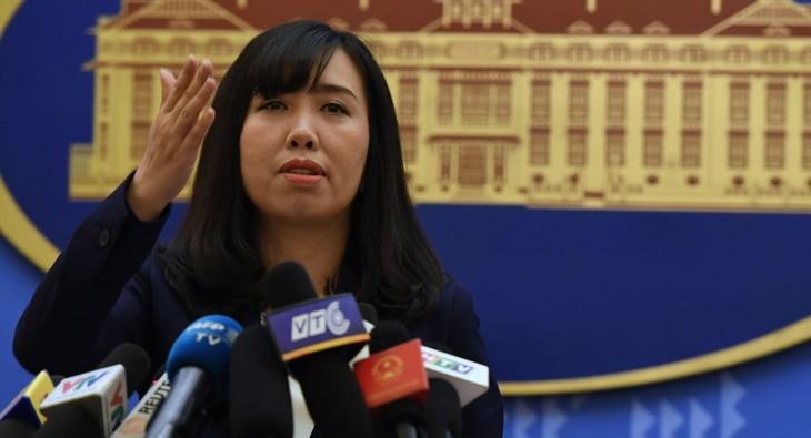 Jumpa pers periodik Kemlu Vietnam - ảnh 1