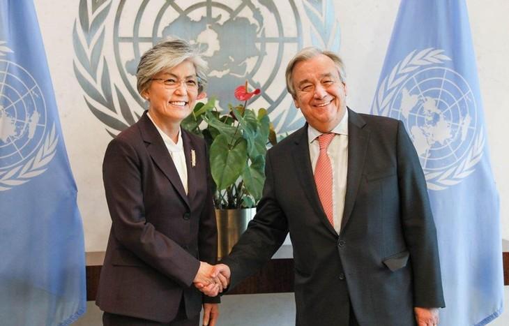PBB dan ASEAN mendukung proses denuklirisasi Semenanjung Korea - ảnh 1