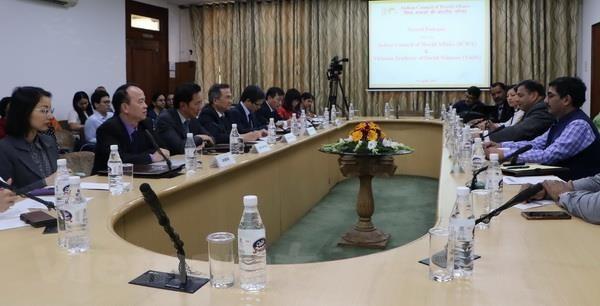 Vietnam dan India mengadakan diaglog akademis tingkat tinggi ke-dua - ảnh 1