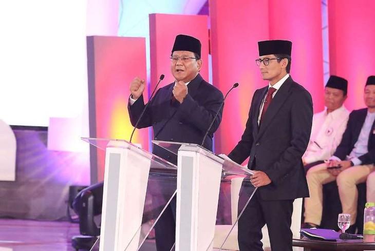 Para calon segera melakukan kampanye pemilihan menjelang pilpres Indonesia  - ảnh 1