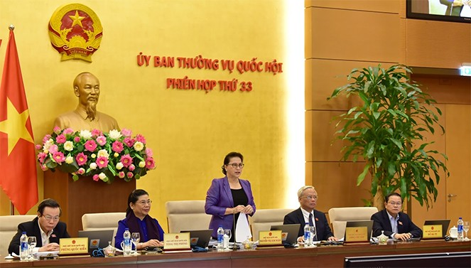 Pembukaan persidangan ke-33 Komite Tetap MN Vietnam - ảnh 1