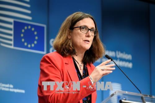 Uni Eropa ingin mengawali perundingan perdagangan dengan AS secepat mungkin - ảnh 1