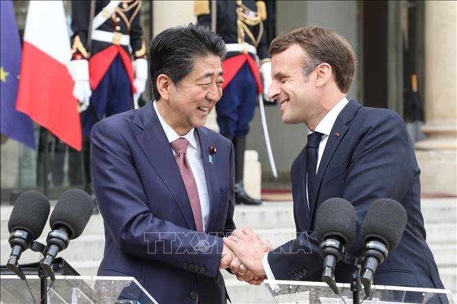 Jepang dan Perancis sepakat mempererat kerjasama bilateral dan mendorong perdagangan bebas - ảnh 1