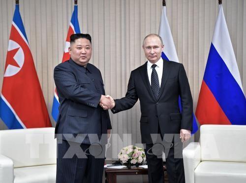 Pertemuan puncak Rusia – RDRK: Pemimpin RDRK meninggalkan Vladivostok - ảnh 1