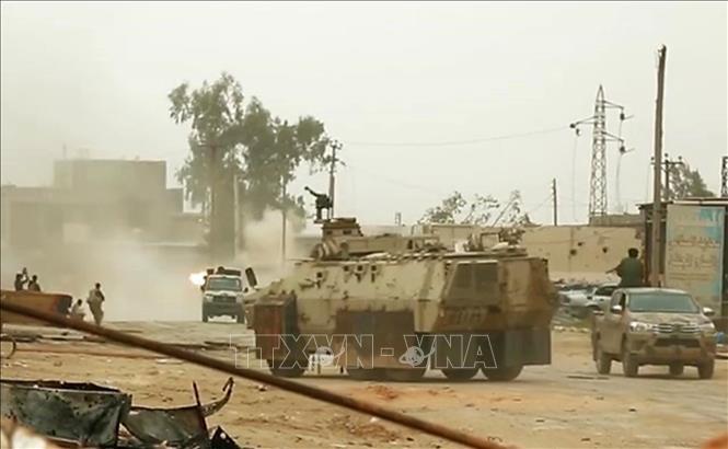 PBB menyerukan gencatan senjata di Libia sehubungan dengan Bulan Ramadhan - ảnh 1