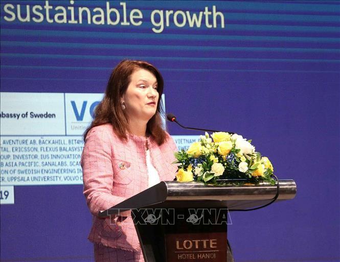 Mendorong hubungan perdagangan Vietnam – Swedia - ảnh 1