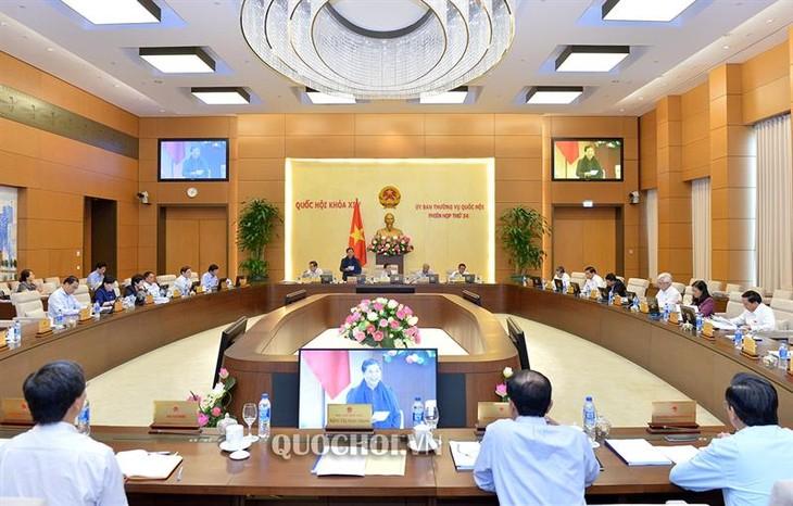Penutupan persidangan ke-34 Komite Tetap MN Vietnam - ảnh 1