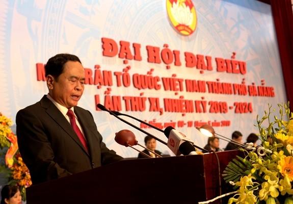 Kongres XI Front Tanah Air Vietnam Kota Da Nang  - ảnh 1