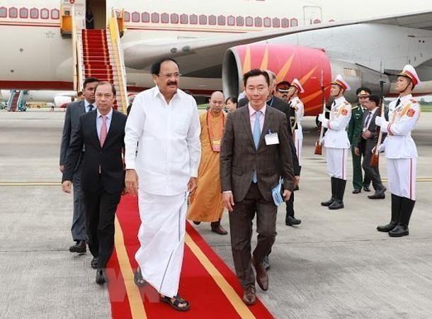 India berkomitmen memperkuat hubungan kerjasama dengan Vietnam - ảnh 1