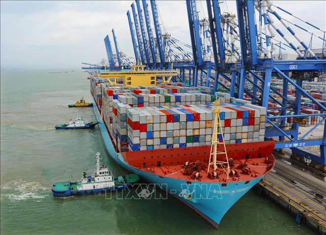Tiongkok membiarkan pintu terbuka untuk perundingan perdagangan dengan AS. - ảnh 1