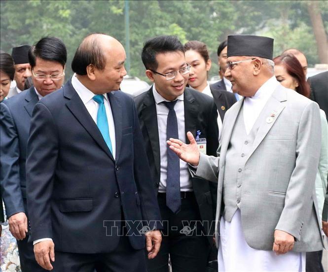PM Nepal mengakhiri dengan baik kunjungan resmi di Vietnam - ảnh 1
