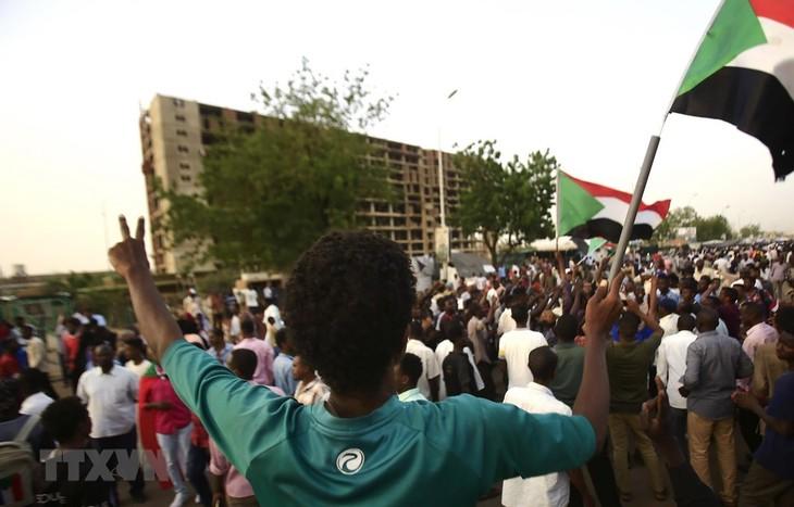Situasi di Sudan: Dewan Militer dan pihak demonstran menyepakati struktur transisi - ảnh 1