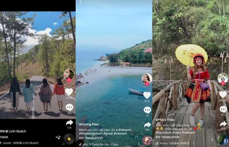 Kerjasama internasional sosialisasi pariwisata Vietnam dengan video pendek - ảnh 1