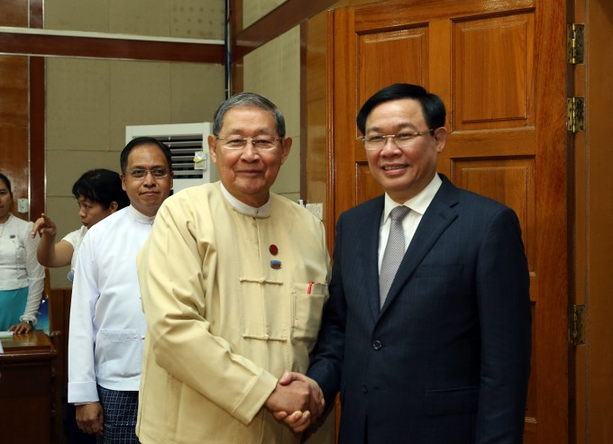 Aktivitas-aktivitas Deputi PM Vietnam, Vuong Dinh Hue di Myanmar - ảnh 1