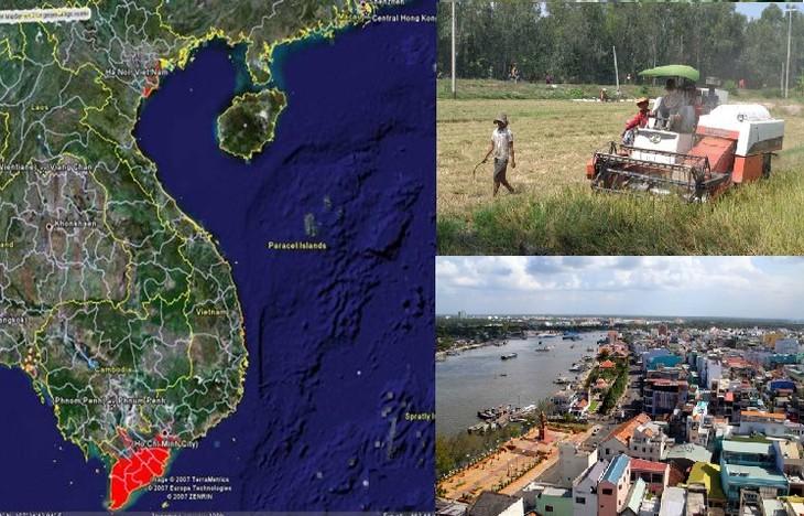 Daerah Dataran Rendah Sungai Mekong melakukan perancangan ulang untuk beradaptasi dengan perubahan iklim - ảnh 1