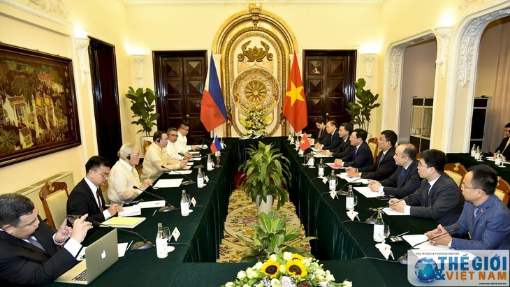 Vietnam-Filipina meningkatkan hasil-guna kerjasama di semua bidang - ảnh 1