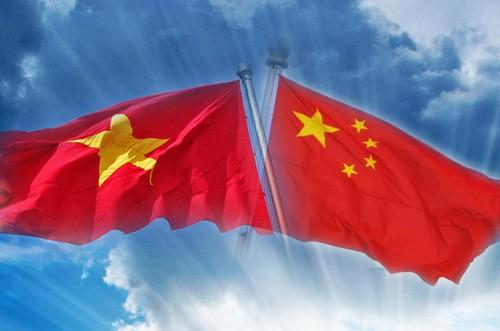 Memperkuat hubungan kemitraan strategis dan komprehensif Vietnam-Tiongkok - ảnh 1