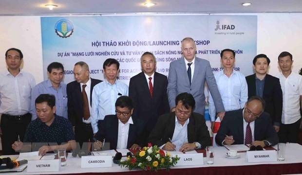 Memberikan konsultasi tentang kebijakan pertanian bagi Subkawasan dataran rendah sungai Mekong - ảnh 1