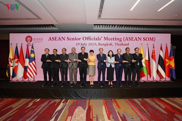 Mengadakan sidang persiapan untuk Konferensi Para Menlu ASEAN ke-52 - ảnh 1