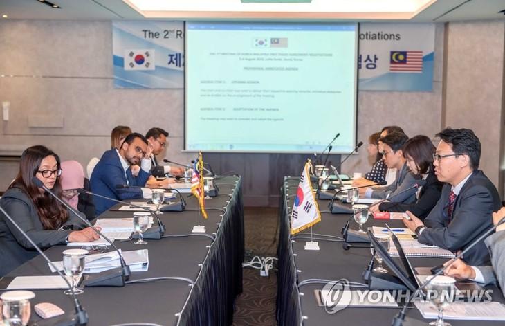 Republik Korea dan Malaysia melakukan putaran perundingan FTA yang ke-2 - ảnh 1