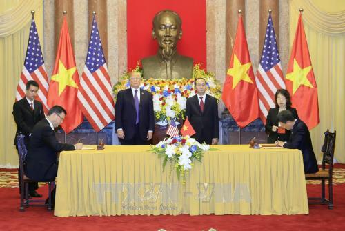 Déclaration commune Vietnam-Etats-Unis - ảnh 1
