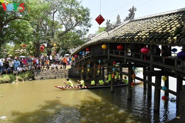 Le pont couvert de Thanh Toàn - ảnh 10