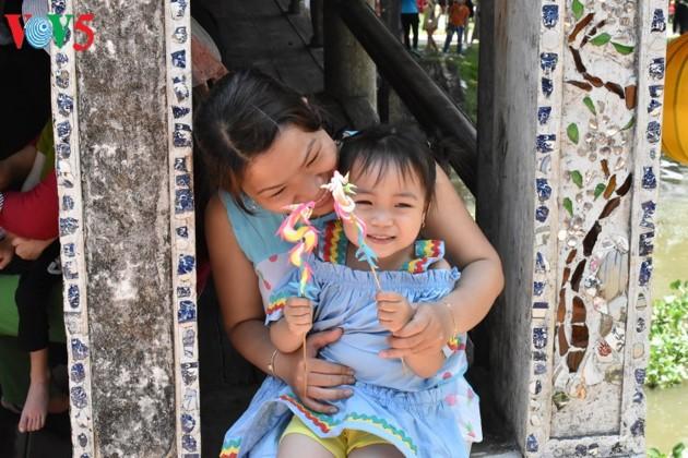 Le pont couvert de Thanh Toàn - ảnh 11