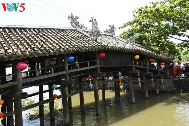 Le pont couvert de Thanh Toàn - ảnh 2