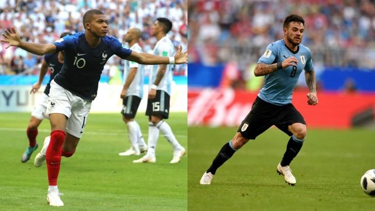 Coupe du monde: au seuil du quart de finale France-Uruguay - ảnh 1