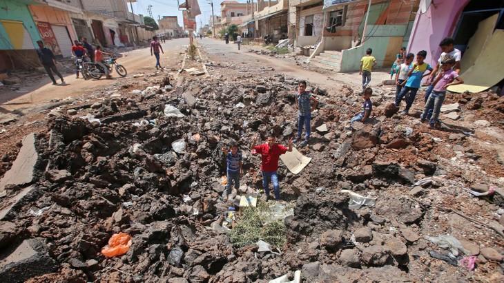 Syrie: reprise des raids dans le sud après l'échec des pourparlers Russie/rebelles - ảnh 1