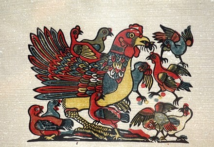 Vietnamese traditional folk painting and its preservation - ảnh 8