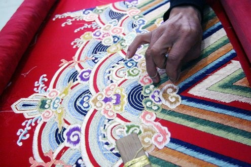 Vietnamese Royal Embroidery - From past to present - ảnh 5