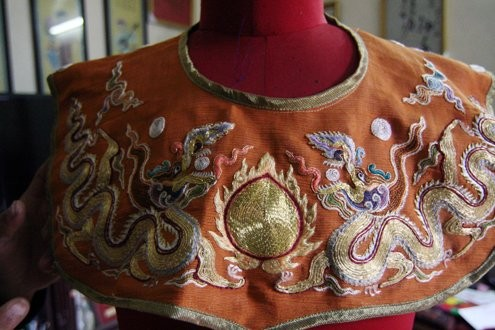 Vietnamese Royal Embroidery - From past to present - ảnh 2