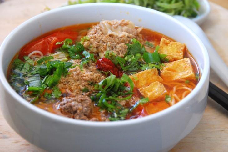 Vietnamese paddy crab noodles - ảnh 1