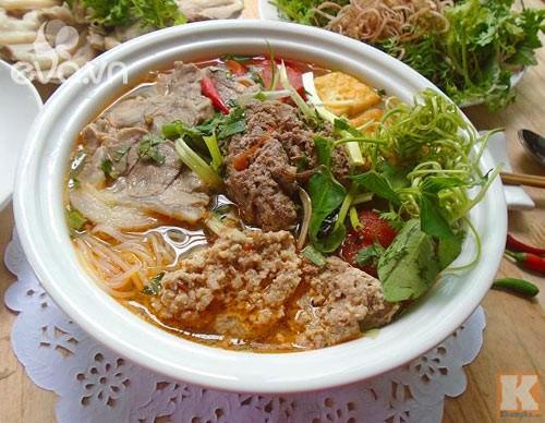 Vietnamese paddy crab noodles - ảnh 2