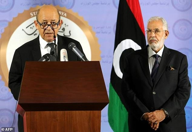 France vows to help resolve to solve Libya crisis - ảnh 1