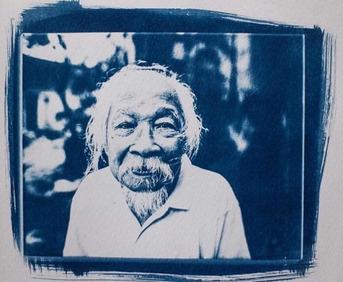 Exhibit showcases French photographer's cyanotype photos of Vietnam  - ảnh 1