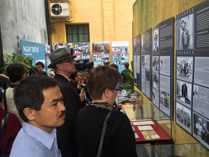 Exhibition recalls memories of Dien Bien Phu  in the Air Victory - ảnh 1